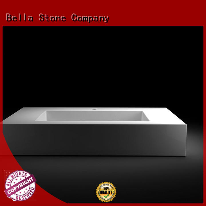 Bella good quality countertop basin supplier for hotel