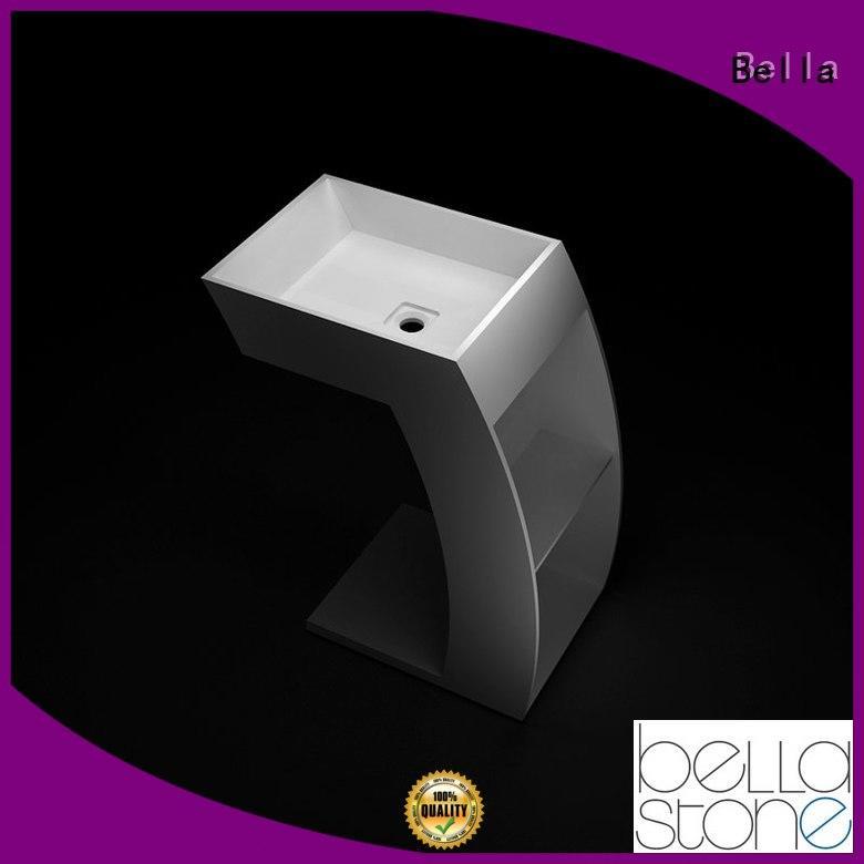 Bella bsl3 compact pedestal basin promotion for kitchen