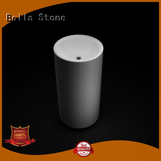 technical white pedestal basin bsl11 supplier for garden