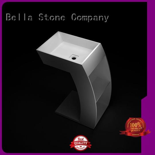 Bella bsl7 full pedestal basin supplier for kitchen
