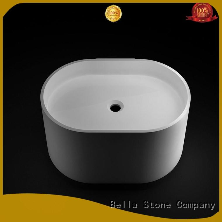 Bella countertop shower basin for tile on sale for hotel