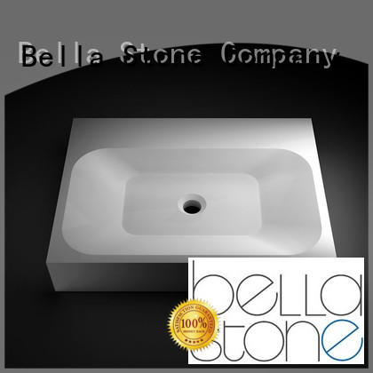 BellaStone countertop wall basin directly price for bathroom