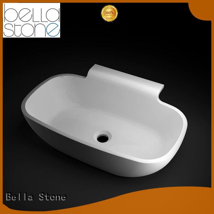 vanity countertop Hot wash basin price Calcutta Bella Brand SolidSurface