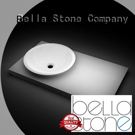 BellaStone countertop free standing washbasin on sale for hotel