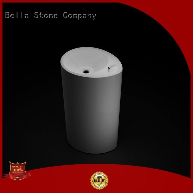 BellaStone technical pedestal basin promotion for hotel