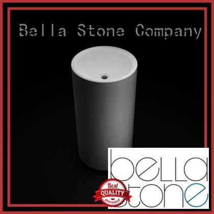 Hot pedestal basin Quartz Bella Brand