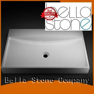 OEM wash basin price above counter Solid Surface above counter basins
