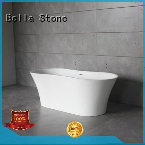acrylic freestanding resin 60 freestanding bathtub Bella manufacture