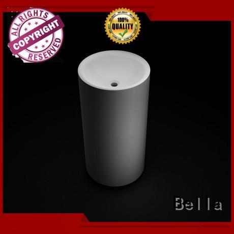 Bella basin bathroom pedestal basins wholesale for toilet