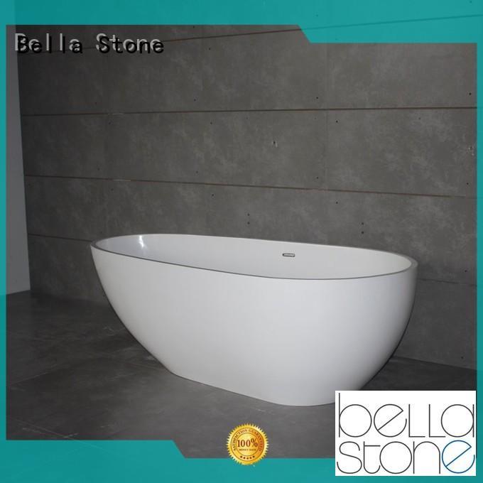 acrylic freestanding deep freestanding tub modified Bella Brand company