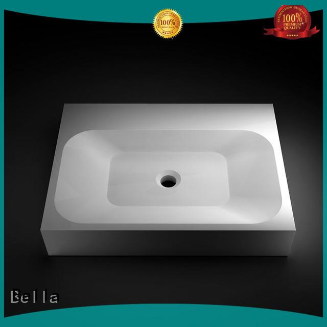 Chrome wash basin price ResinStone Gloss Bella Brand