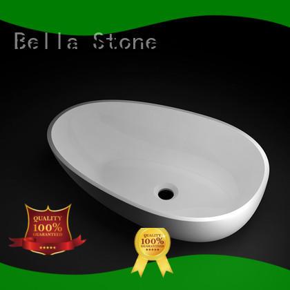 Bella simple bathroom pedestal basins supplier for kitchen