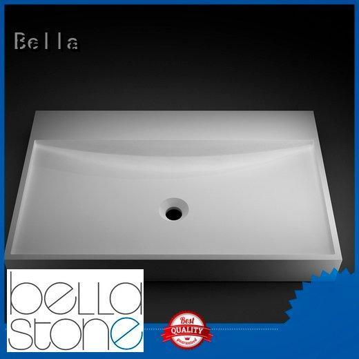 Calcutta Solid Surface above counter basins Bella