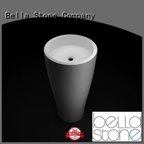 BellaStone bsl3 full pedestal basin promotion for toilet