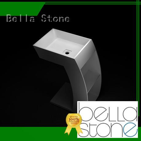 Bella bsl7 pedestal basin promotion for toilet
