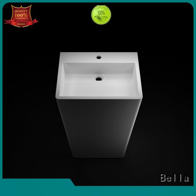 Bella bsl5 freestanding pedestal basin promotion for toilet