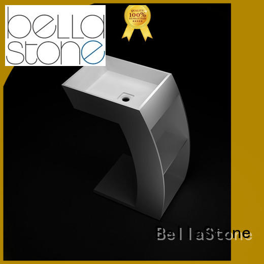BellaStone technical traditional pedestal basin wholesale for toilet
