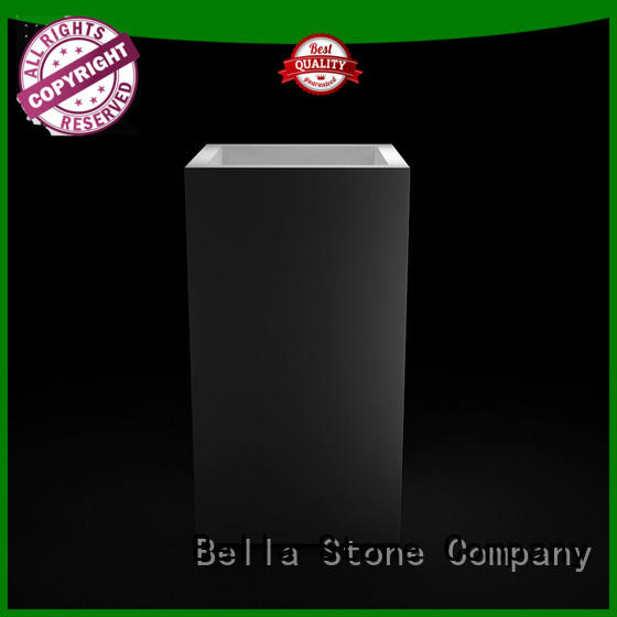 BellaStone basin pedestal basin promotion for hotel