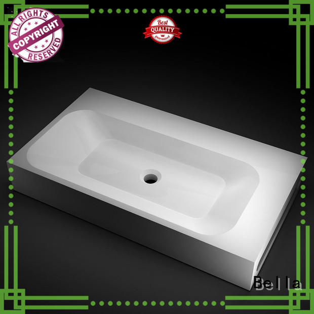 Bella popular counter top basins supplier for bathroom