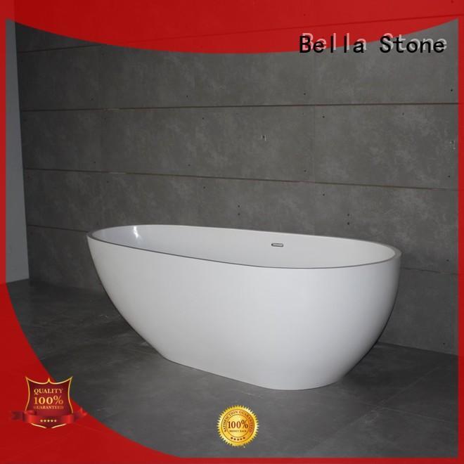 Bella Brand modified deep freestanding tub artificialstone factory