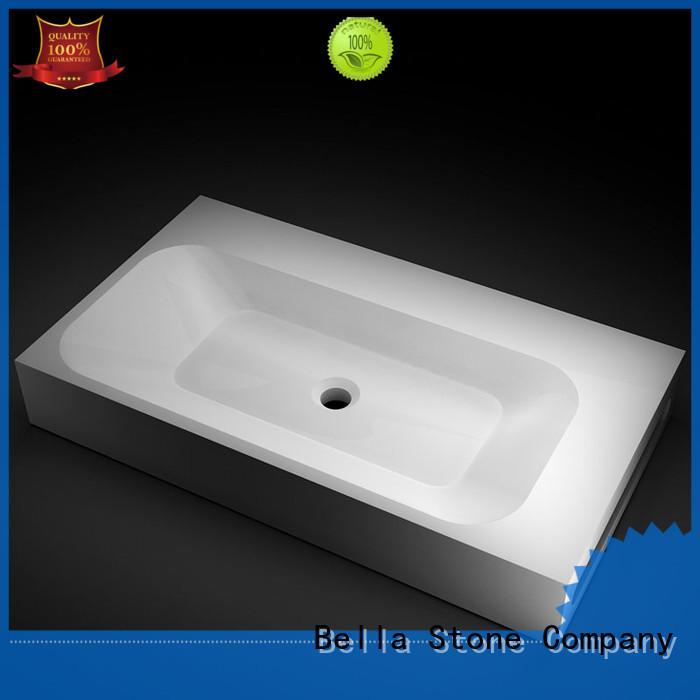 BellaStone simple shower basin for tile on sale for bathroom