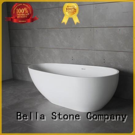 Wholesale acrylic freestanding deep freestanding tub Bella Brand