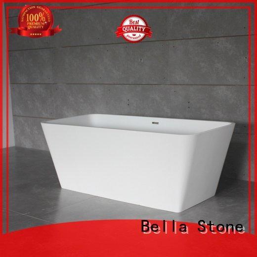 60 freestanding bathtub surface lightweight acrylic modified Bella