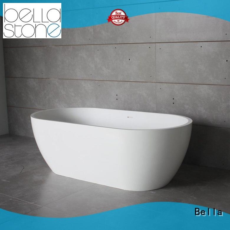 Bella durable deep freestanding tub from China for villa