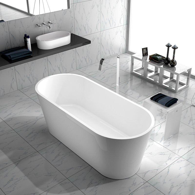 Bella Artificial Stone Bath BS-S07 1695 Free-standing Bathtubs image28