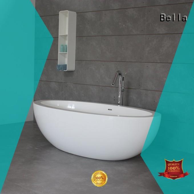artificialstone designer freestanding solidsurface 60 freestanding bathtub modified deep freestanding tub Bella Brand