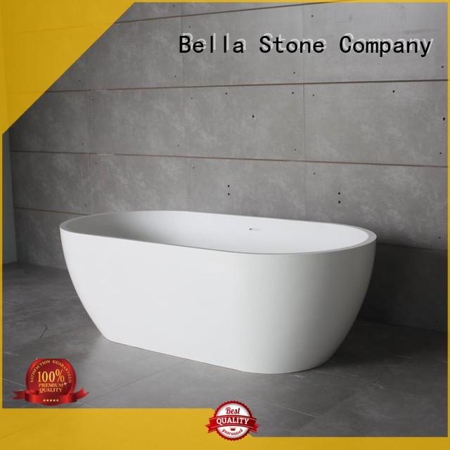 corner 60 inch free standing tub from China for garden Bella