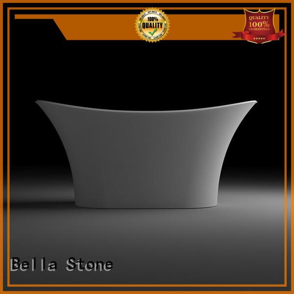 60 freestanding bathtub pure solidsurface resin Warranty Bella