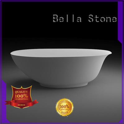 light porcelain freestanding tub directly price for villa Bella