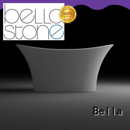 Bella practical white freestanding tub from China for home