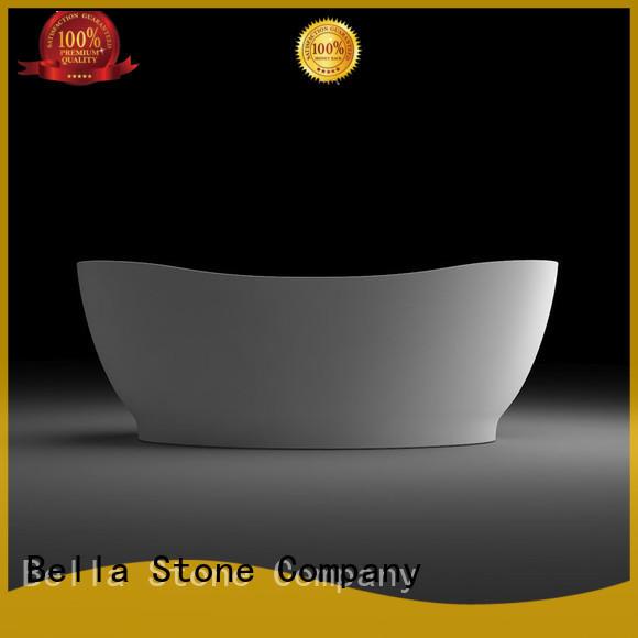 freestanding artificialstone modified deep freestanding tub Bella Brand company