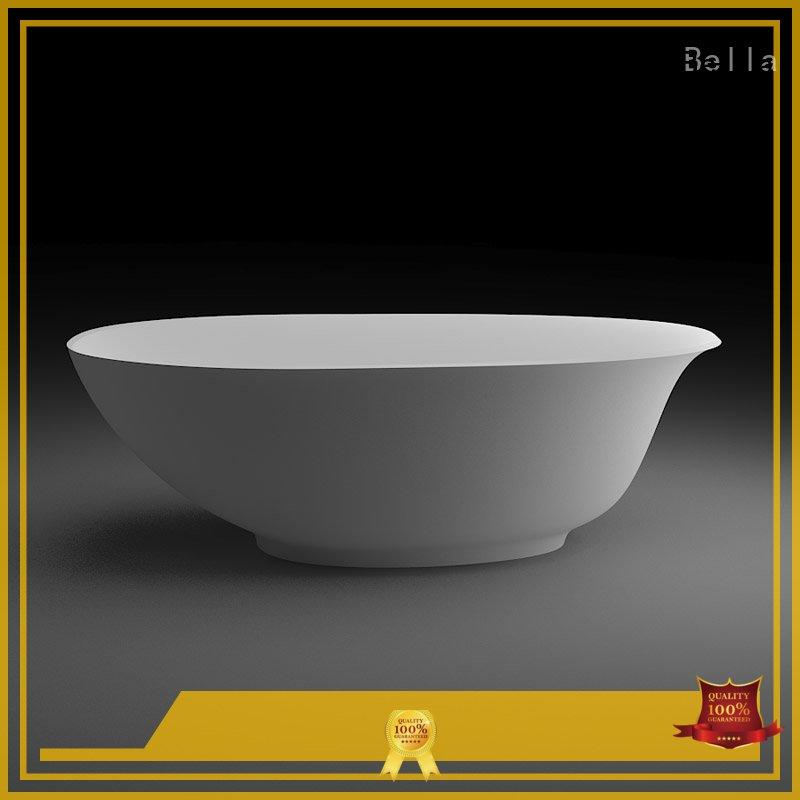 freestanding artificialstone capital pure deep freestanding tub Bella