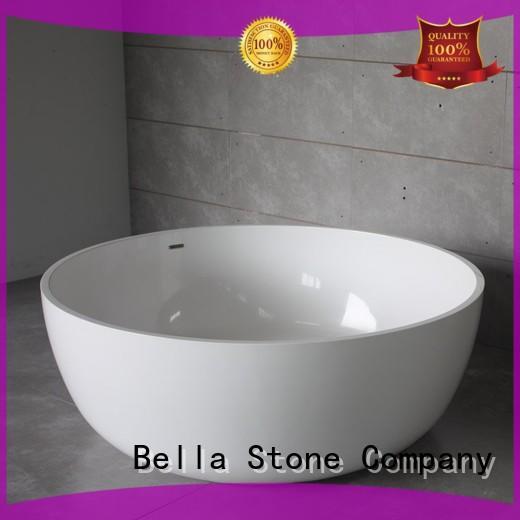 Bella Brand acrylic capital artificialstone deep freestanding tub manufacture
