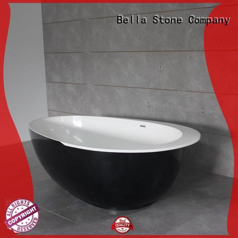Bella Brand artificialstone modified custom 60 freestanding bathtub