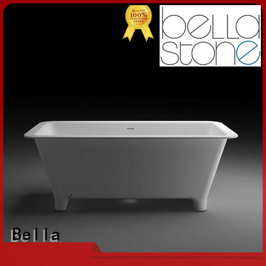 artificialstone modified acrylic OEM deep freestanding tub Bella