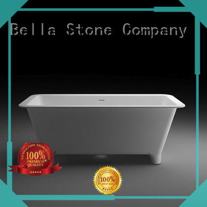 resin pure 60 freestanding bathtub Bella Brand