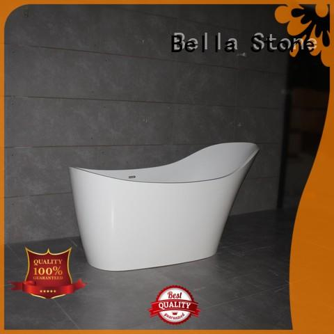 designer lightweight Bella Brand 60 freestanding bathtub factory