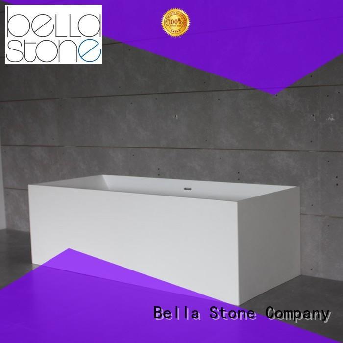 modified resin 60 freestanding bathtub Bella manufacture