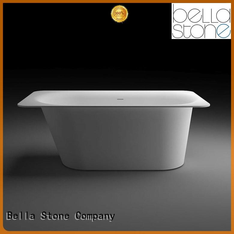 Bella soaking free standing acrylic bath tubs directly price for bathroom